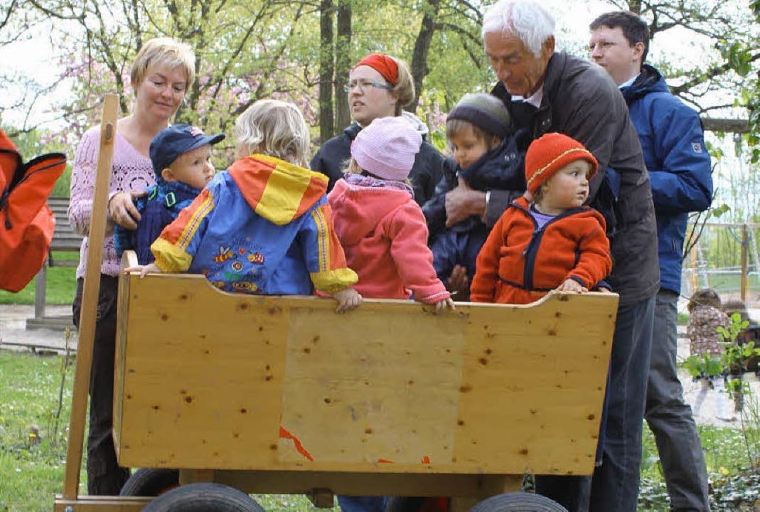 Unter Dreijährige wollen betreut sein.   | Foto: ulia Fuchs