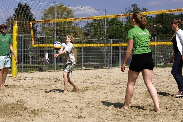 Den Sand zwischen den Zehen spüren
