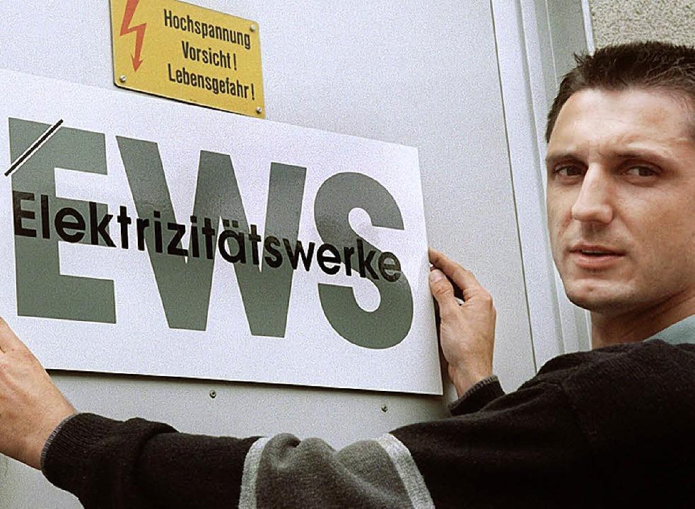 1997  stellte  Martin Halm das Logo vor.    Foto: Rolf Haid