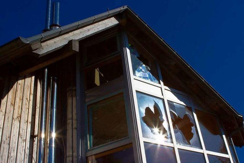 Verlassen und verfallen – das Geisterhaus auf dem Schauinsland (Foto: Carlotta Huber)