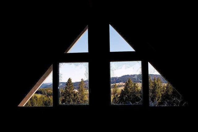 Das Geisterhaus auf dem Schauinsland: Vom Hotel zur Bauruine