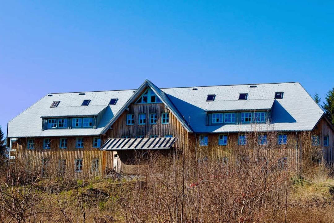 Das Geisterhaus auf dem Schauinsland.    Foto: Carlotta Huber