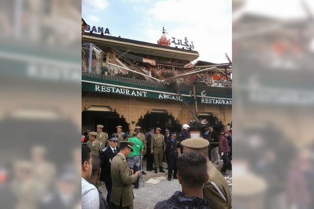 Touristenstadt Marrakesh: Explosion im Kaffeehaus