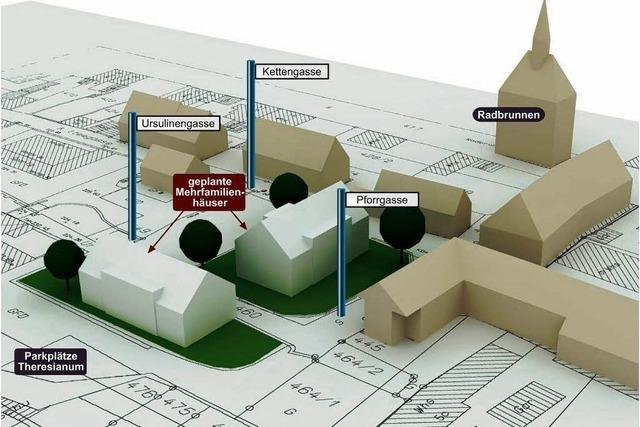 Treubau ändert Pläne für Wohnblocks auf dem Münsterberg erheblich
