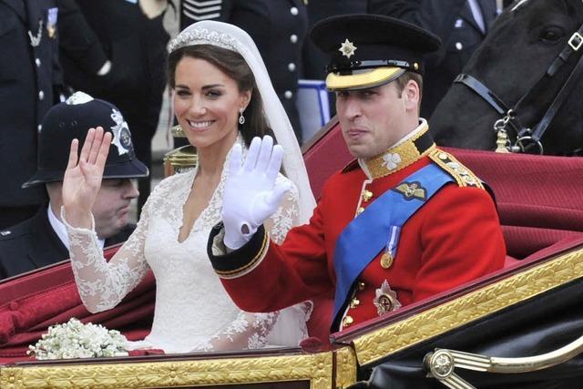 Yes! Prinz William und Kate sind verheiratet