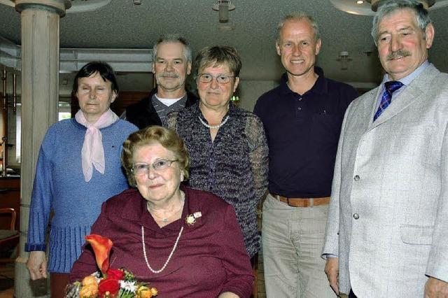 Treue Mitglieder stärkten Sozialverband