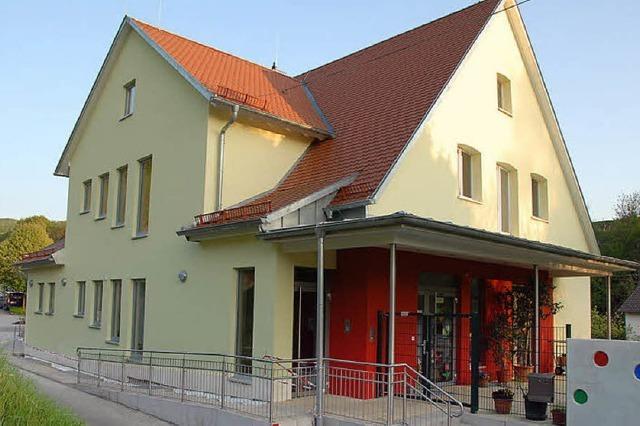 Sanierter Kindergarten wird am 22. Mai eingeweiht