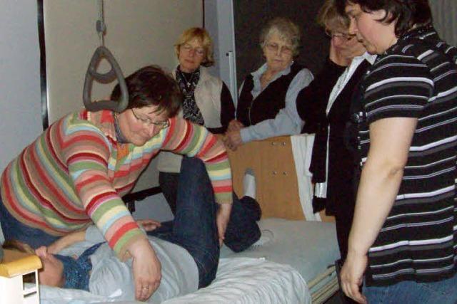 Wertvolle Tipps für die Pflege daheim