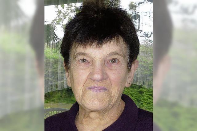 Elfriede Fritschi wurde 85 Jahre