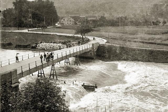 Rätselraten um altes Wiesebrücken-Foto