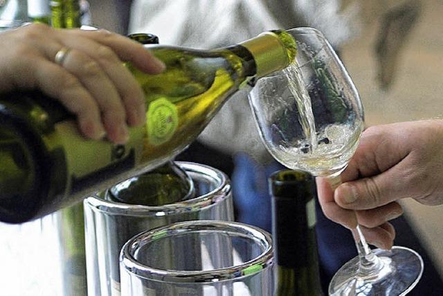 Weinprobe mit dem Sommelier