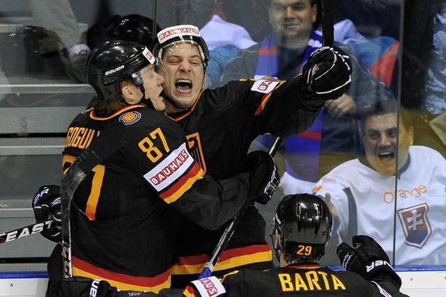 Eishockey-WM: Historischer Sieg über Russland