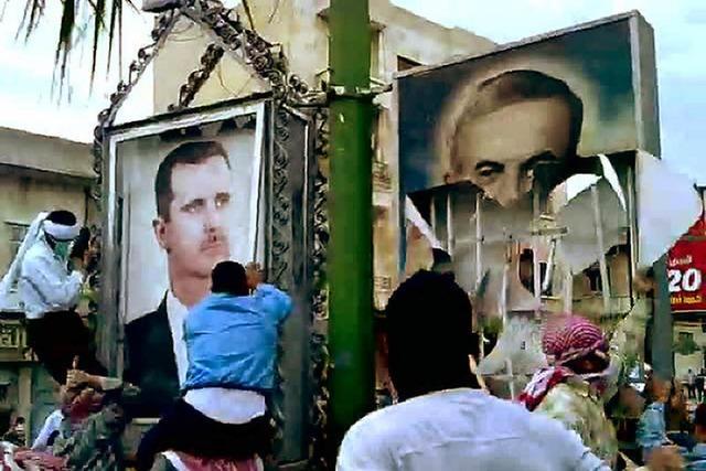 Syrer trotzen Demoverbot