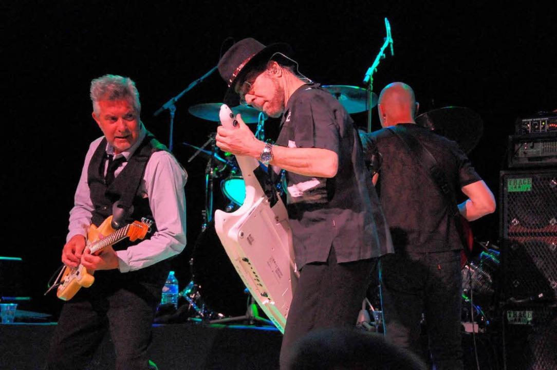 Legendär war dieser Abend in der Stadthalle mit den Rocklegenden  | Foto: Robert Bergmann