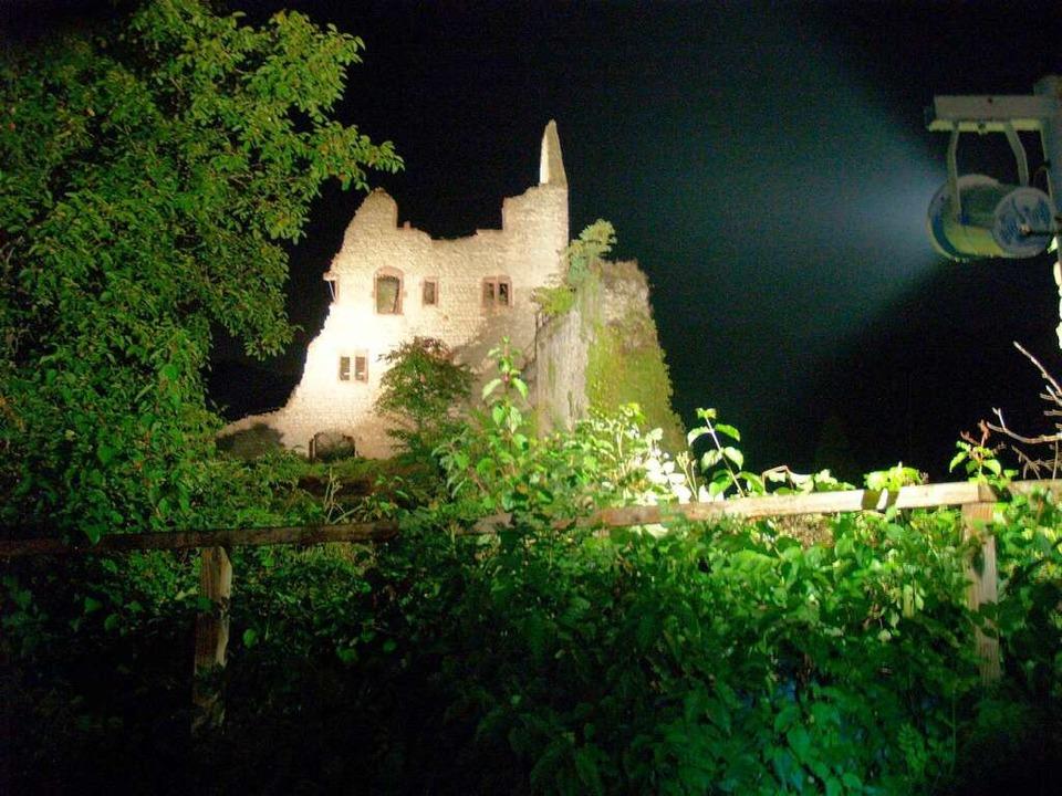 Burg Landeck.  | Foto: Aribert Rüssel