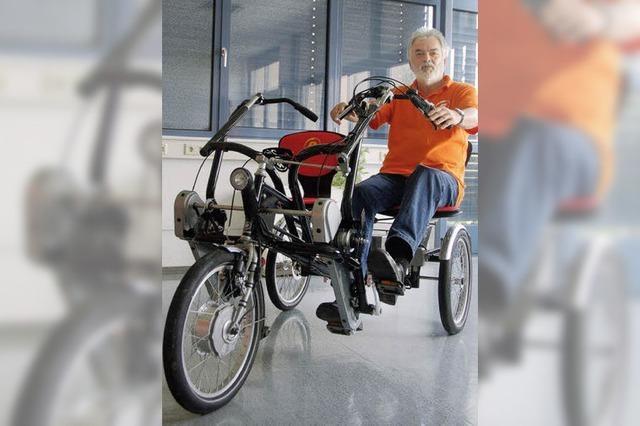 Mobil auf drei Rädern bis ins hohe Alter