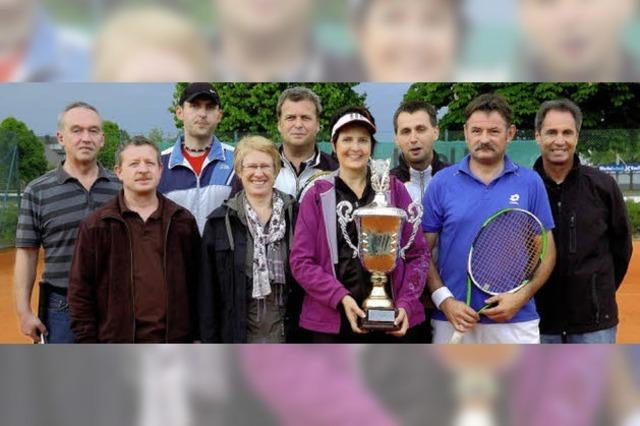 Rheinhausen holt sich den Tennispokal