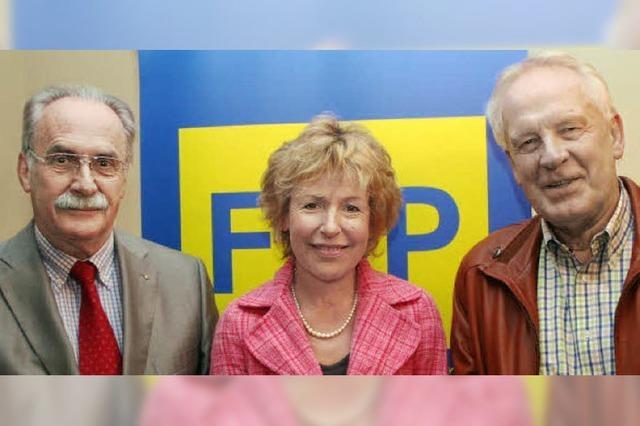 Heidi Thron führt die FDP