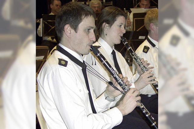 Ein Fessenbacher spielt die erste Klarinette