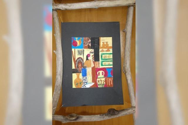 Große Kunst in der kleinen Schule