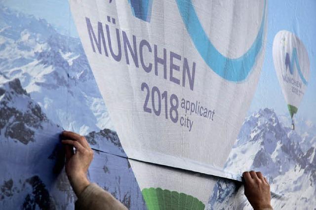Bürgerentscheid zu den Winterspielen in Garmisch