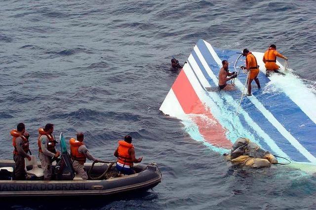 Todesflug AF 447: Sterbliche Überreste von Atlantikgrund geborgen