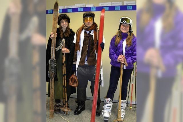 Der Skiclub als Prüfungsthema
