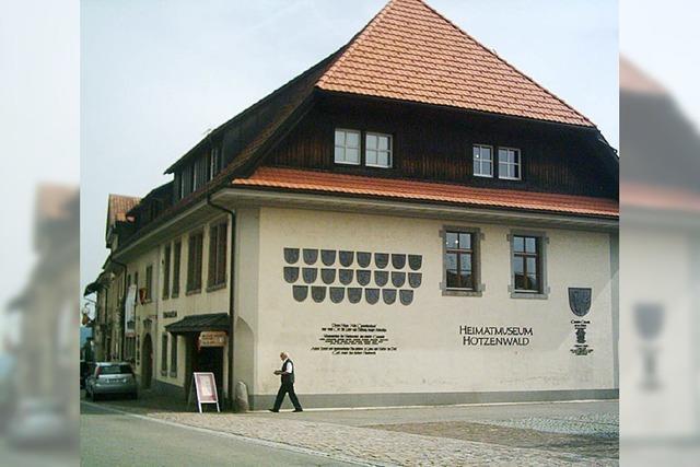 Heimatmuseum ist Thema