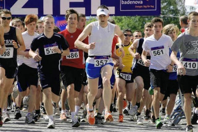 Lauffest: Gut 500 auf dem kleinen Rundkurs
