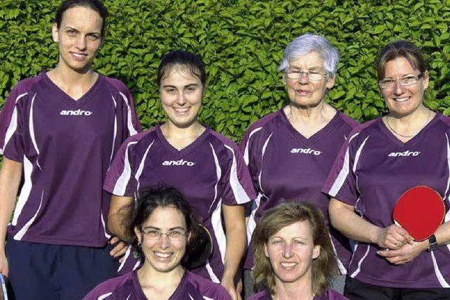 Meistertitel für das Tischtennis-Damenteam
