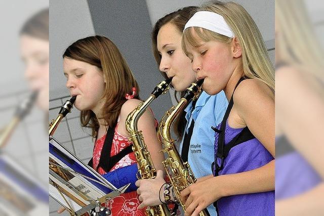 Die jungen Talente dürfen zeigen, was sie können