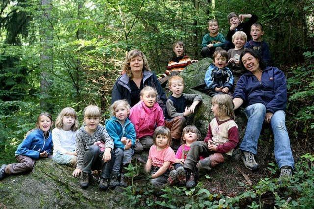 10 Jahre Waldkindergarten