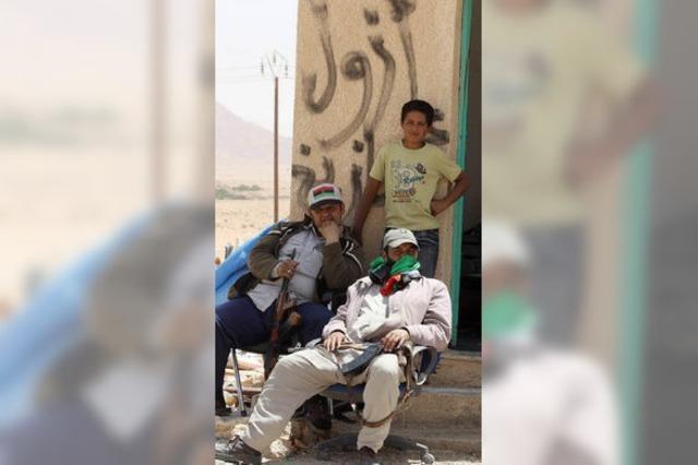 Auf der Suche nach Gaddafis Bunker