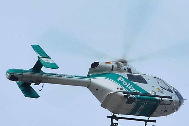 Polizeihubschrauber abgestürzt – Piloten außer Lebensgefahr