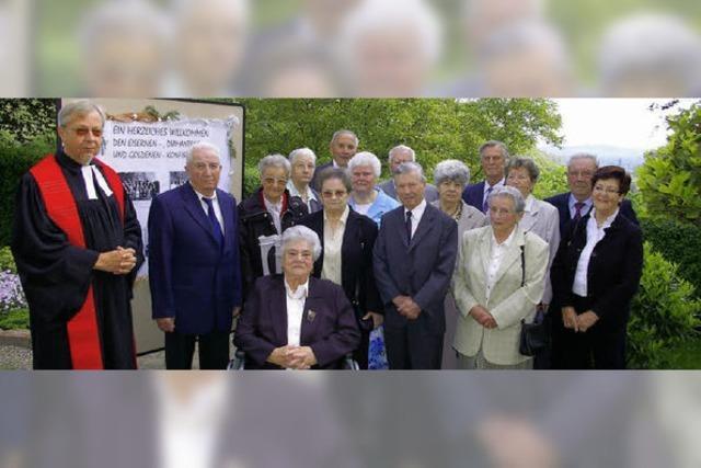 88 Jubelkonfirmanden in Bahlingen