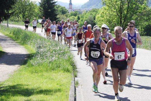 Der Berg ruft die Läufer