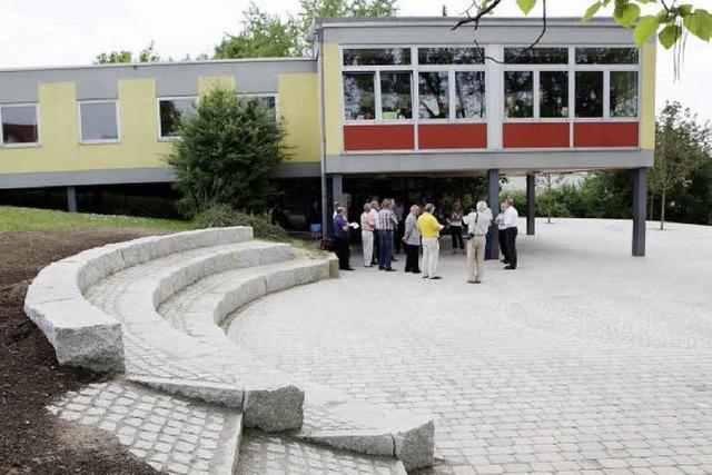 Einen neuen Platz für die Schüler