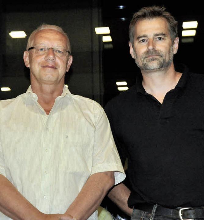 Walter Ott (links) und Matthias Schubi...-Genossenschaft zu Vorständen bestellt  | Foto: Markus Zimmermann