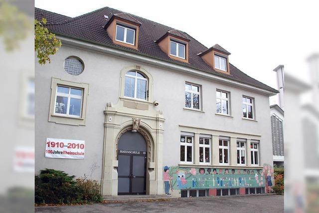 Rheinschule wird dreizügig ausgebaut