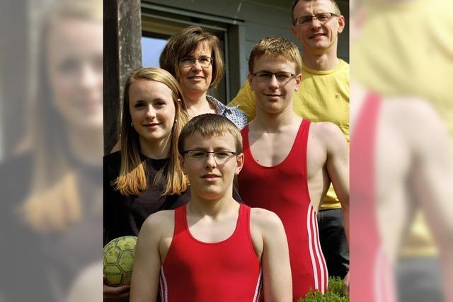 Ein Familienleben für den Sport