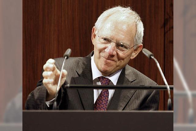 Schäuble kommt nach Waldkirch