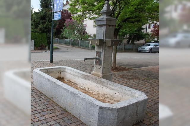 Kein Edelstahl und trockene Brunnen