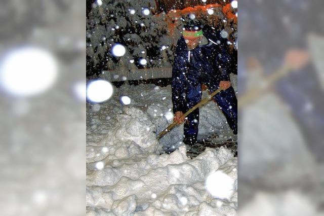 Trotz frühen Wintereinbruchs weniger Salz benötigt