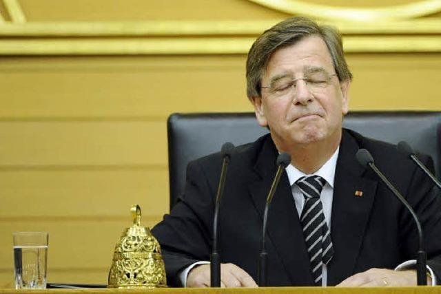 Willi Stächele jetzt oberster Parlamentarier