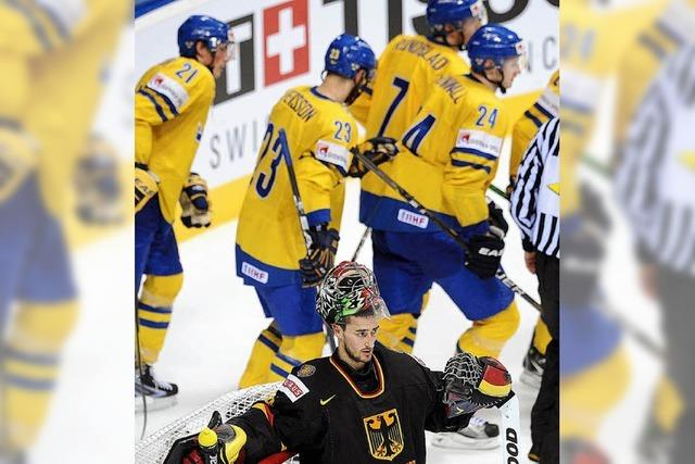 Eishockey-WM: Deutschen verliert gegen Schweden