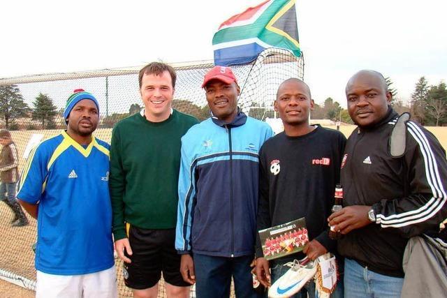 Bürgermeister-Nationalelf in Südafrika