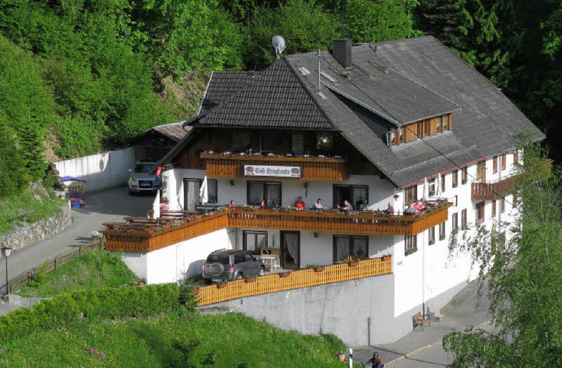 "Das Café ""Bergfreude"" an d...ein feiert sein 25-jähriges Bestehen.   | Foto: Manfred Lange"