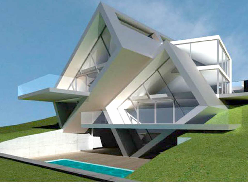In den hang gew rfelt bad bellingen badische zeitung for Moderne architektur wohnhaus