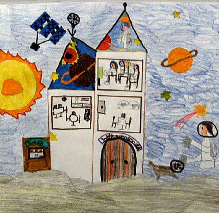 Ein Traum im Weltraum: Wie sich ein Kind Schule wünscht.   | Foto: bz