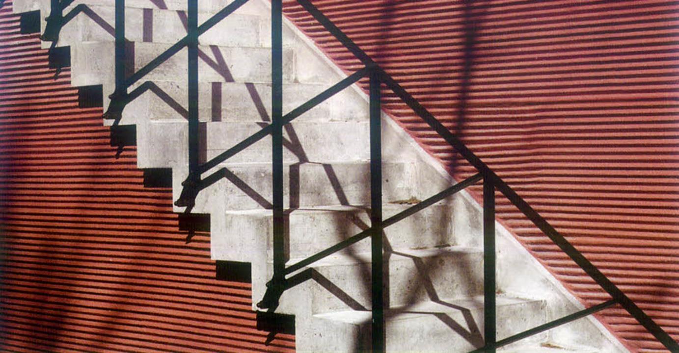 Gefeilte Details:  Mäcklers Kunsthalle Portikus in Frankfurt  | Foto: birkhäuser